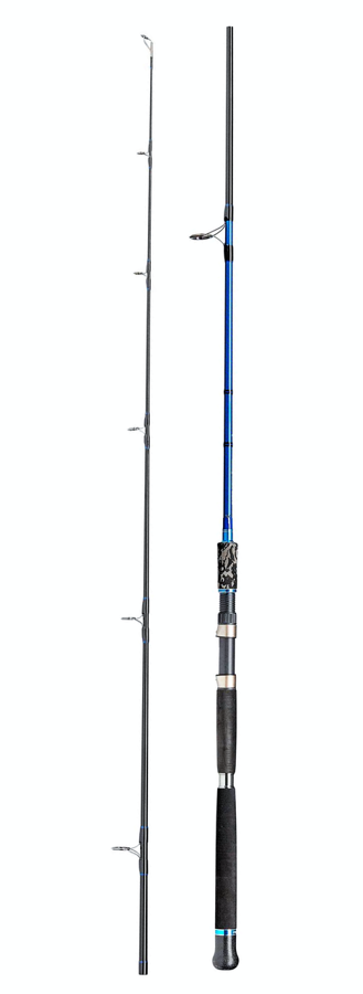 Jūras kāts DAM STEELPOWER BLUE SHAD & PILK 3.20m (40-170g) 8-18Kg Carbon Heavy Spinning Rods