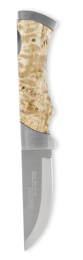 Marttiini MBL CURLY BIRCH FOLDING KNIFE