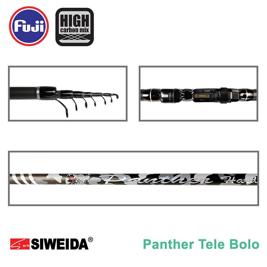 Rod  Siweida PANTER HARD TELE BOLO up to 45g  Length 5.00 m