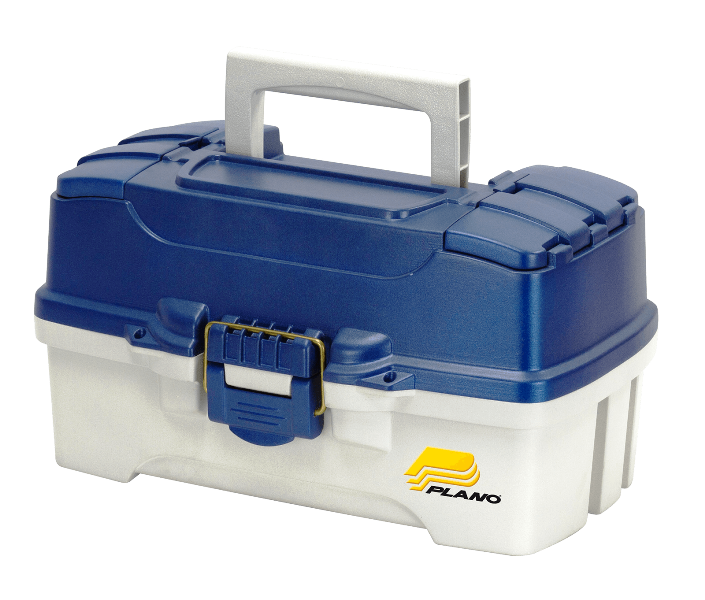 Plano TWO-TRAY TACKLE BOX - BLUE