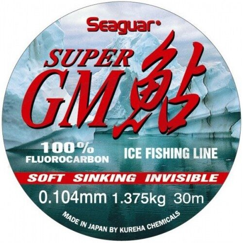 SEAGUAR SUPER GM 100% FLUOROCARBON 30m , 0.054-0.205 mm