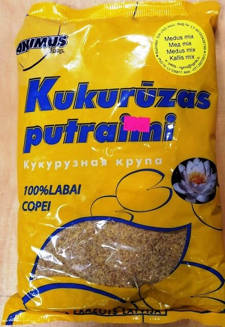 BARĪBAS SASTĀVDAĻAS N-G Mix  Kukurūzas Medus 1 kg