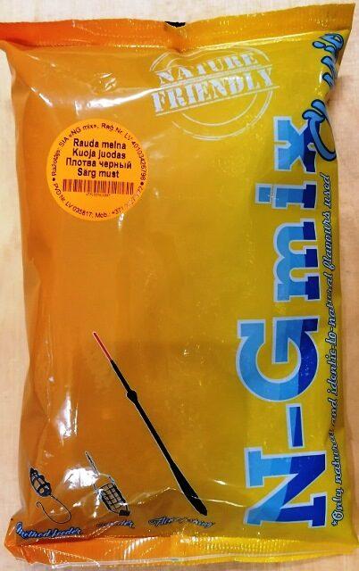 Zivju papildbarība N-G mix Rauda Melna 1 kg