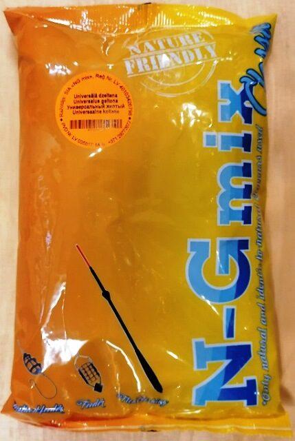 Zivju papildbarība N-G mix Universālā Dzeltena 1 kg
