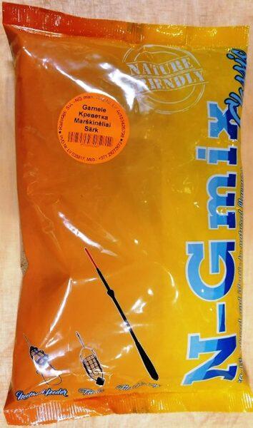 Zivju  papildbarība N-G mix Garnele 1 kg