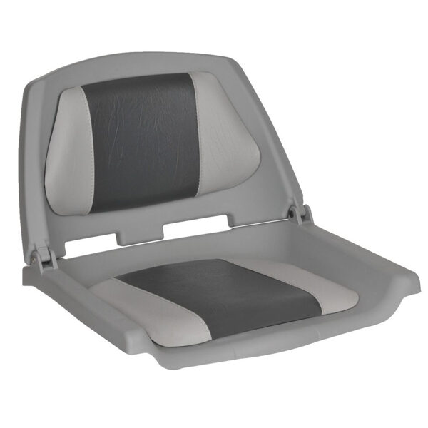 Oceansouth seat FISHERMAN, padded , Grey/charcoal