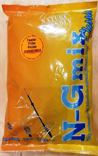 Zivju papildbarība N-G mix Feeder 1 kg