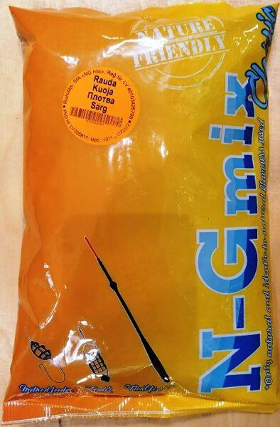 Zivju papildbarība N-G mix Rauda 1 kg